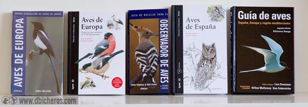 comparativa-guia-aves Dierschke Barthel Hume De Juana Svensson